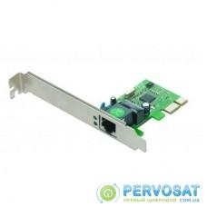 Контроллер 1000 Base-TX PCI-E Realtek GEMBIRD (NIC-GX1)