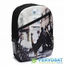 Рюкзак школьный Mojo Бруклин Брейкданс Черный мульти (KAB9985235)
