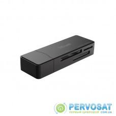 Кардридер Trust Nanga USB 3.1 Card Reader