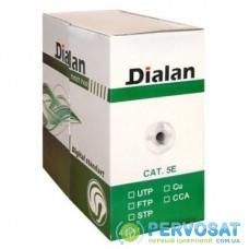 Кабель сетевой Dialan FTP 305м КНПЭп 4*2*0,50 [СU] cat.5e, внеш., проволка 1,2мм (03562)