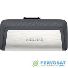 USB флеш накопитель SANDISK 64GB Ultra Dual USB 3.0/Type-C (SDDDC2-064G-G46)