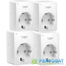 Умная розетка TP-Link Tapo P100 (4-pack) (Tapo P100(4-pack))