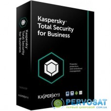 Антивирус Kaspersky Total Security for Business 25-49 Node 1 year Base License E (KL4869OAPFS)