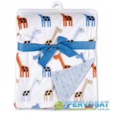 Детское одеяло Luvable Friends двухстороннее для мальчиков (50572 M)