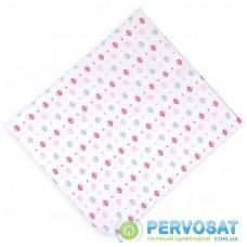 Пеленки для младенцев Интеркидс с грибочками (1142-G-pink)