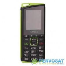 Мобильный телефон Sigma Comfort 50 mini4 Black Green (4827798337431)