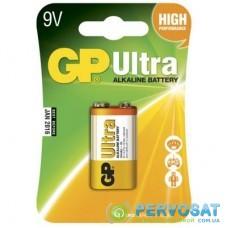 Батарейка Крона Ultra Alcaline 6LF22 9V * 1 GP (GP1604AU-5UE1)