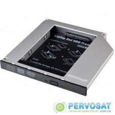 Фрейм-переходник Grand-X HDD 2.5'' to notebook ODD SATA3 (HDC-27)