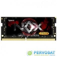 Модуль памяти для ноутбука SoDIMM DDR4 8GB 2800 MHz NOX Series Apacer (ES.08G2W.GFE)