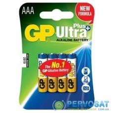 Батарейка GP AAA LR03 Ultra Plus Alcaline * 4 (GP24AUP-2UE4)