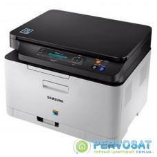 Многофункциональное устройство Samsung SL-C480W c Wi-Fi (SS257L)