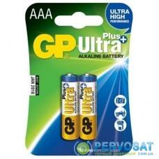 Батарейка GP AAA LR03 Ultra Plus Alcaline * 2 (GP24AUP-2UE2)