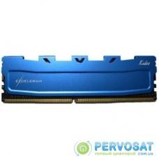 Модуль памяти для компьютера DDR4 8GB 2400 MHz Blue Kudos eXceleram (EKBLUE4082416A)